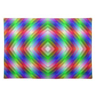 Neon Stripes Tischsets