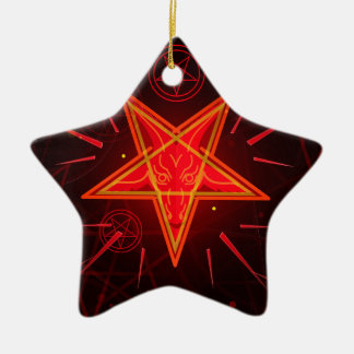 Neondämon Keramik Ornament
