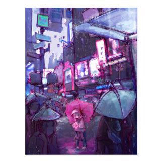 Neonew- yorkpostkarte postkarte
