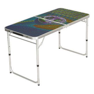Neonfiretruck-Entwurf Beer Pong Tisch