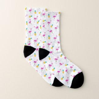 Neonflamingos Socken