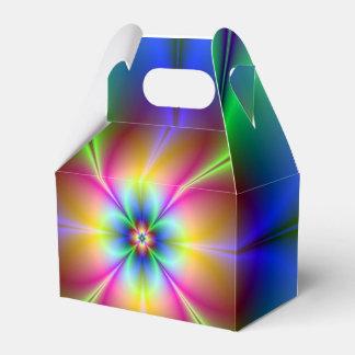 Neongänseblümchen Geschenkschachtel