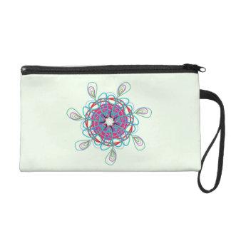 NeonGekritzel Sundial Wristlet Handtasche