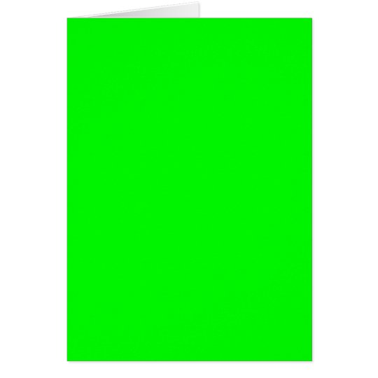 neongrün karte