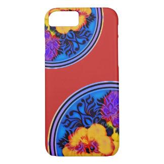NeonHibiskus Kimono iPhone 8/7 Hülle