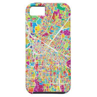 Neonkarte Houstons, Texas | Schutzhülle Fürs iPhone 5