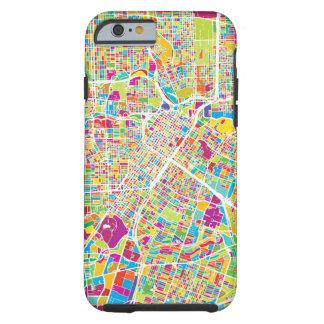 Neonkarte Houstons, Texas | Tough iPhone 6 Hülle