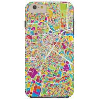 Neonkarte Houstons, Texas | Tough iPhone 6 Plus Hülle