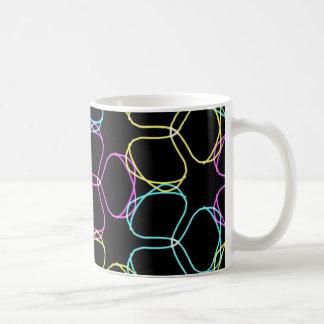 Neonklee-Kaffee-Tasse Kaffeetasse