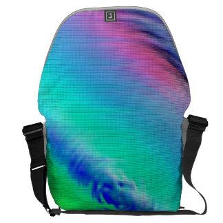 Neonkreisbote in den verschiedenen Farben Kurier Taschen