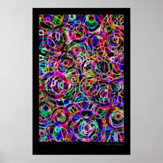Neonkreise Poster