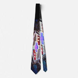 Neonmuster Krawatte