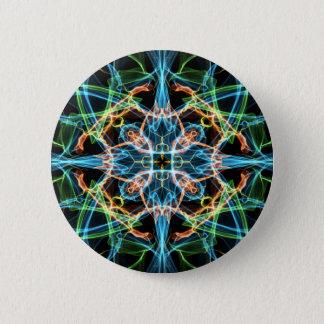 Neonmuster Runder Button 5,1 Cm