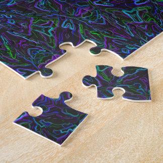 Neonpfau-Farben 4748 Puzzle