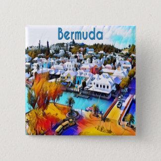 NeonPop Bermuda 4544 Quadratischer Button 5,1 Cm