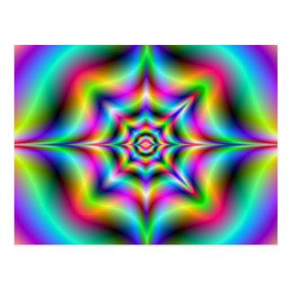 Neonpsychedelia-Postkarte