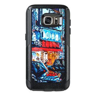 Neonreflexionen OtterBox Samsung Galaxy S7 Hülle
