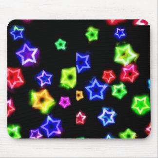 Neonregenbogen spielt Mousepad die Hauptrolle
