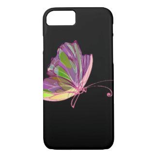 Neonschmetterling iPhone 8/7 Hülle