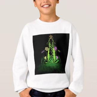 Neonschmetterlinge und Gänseblümchen Sweatshirt