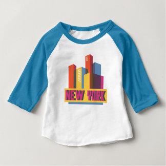 NeonSkyline New York City | Baby T-shirt