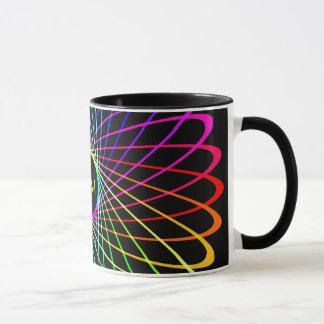 NeonSpiro abstrakt Tasse