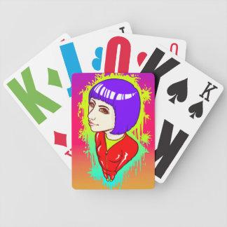 Neonstraße Poker Karten