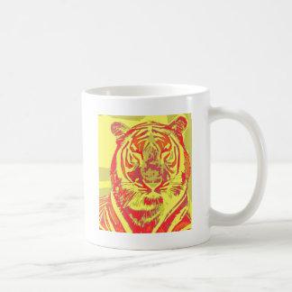 Neontiger Kaffeetasse