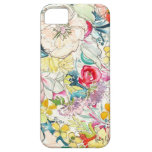 Neonwatercolor-Blume iPhone Fall Schutzhülle Fürs iPhone 5