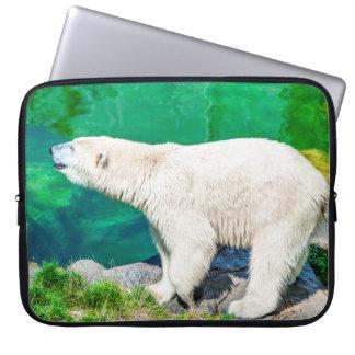 Neopren-Laptop-Hülse 15-Zoll-Eisbär Laptop Sleeve