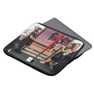 Neopren-Notizbuch-Abdeckung Hallo-Hong Kong Laptopschutzhülle