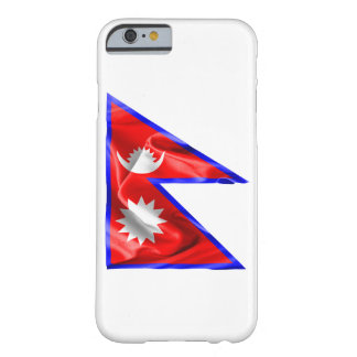 Nepal-Flagge Barely There iPhone 6 Hülle
