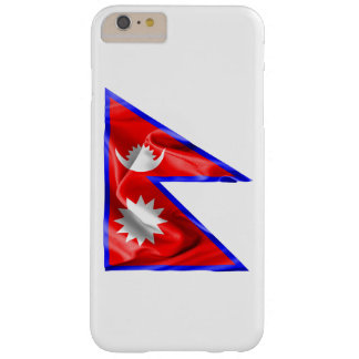 Nepal-Flagge Barely There iPhone 6 Plus Hülle