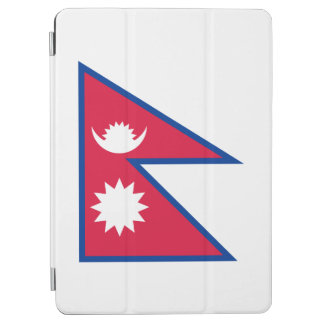 Nepal-Flagge iPad Air Cover