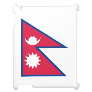 Nepal-Flagge iPad Hülle
