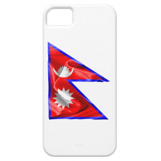 Nepal-Flagge iPhone 5 Cover