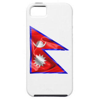 Nepal-Flagge iPhone 5 Etuis