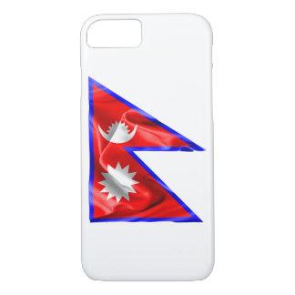 Nepal-Flagge iPhone 8/7 Hülle