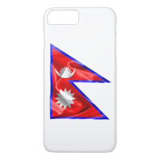 Nepal-Flagge iPhone 8 Plus/7 Plus Hülle