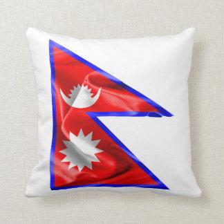 Nepal-Flagge Kissen