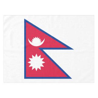 Nepal-Flagge Tischdecke