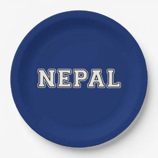 Nepal Pappteller
