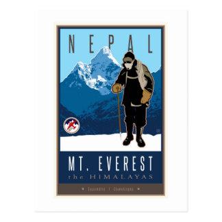 Nepal Postkarte