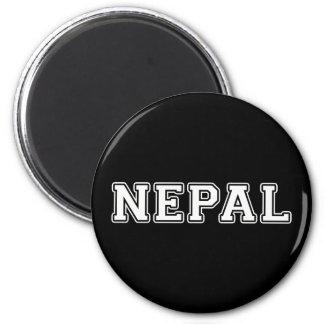 Nepal Runder Magnet 5,7 Cm