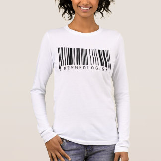 Nephrologe-Barcode Langarm T-Shirt