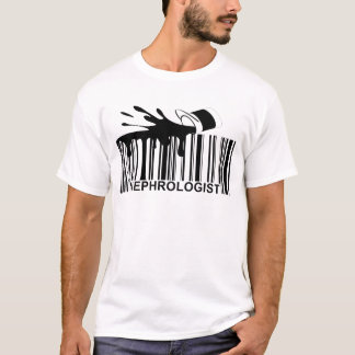 Nephrologe-Barcode. .png T-Shirt