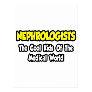 Nephrologe-… coole Kinder der medizinischen Welt Postkarte