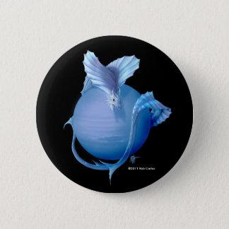 Neptun-Drache Runder Button 5,1 Cm