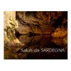Neptun Grotte, Sardinien-Textpostkarte Postkarte