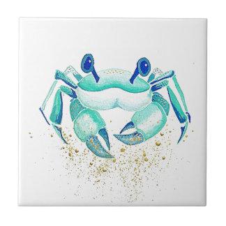Neptun Krabbe Keramikfliese